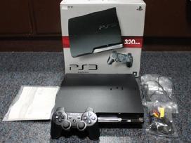 Su garantija mažai naudotą sony PS3 320gb