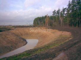 Tvenkiniu kasimas,valymas,aplinkos tvarkymo darbai - nuotraukos Nr. 3