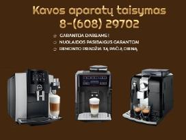 Kavos aparatų taisymas Fabijoniškėse
