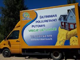 Pastatų šiltinimas poliuretanu