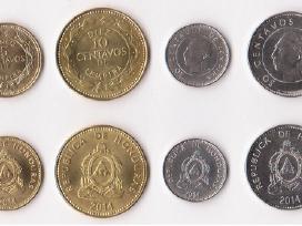 2014 m. Hondūro monetų rinkinys 5-10-20-50 centavų