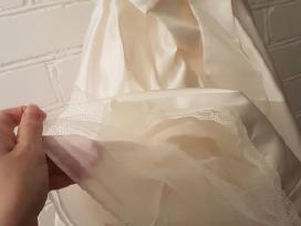 Vestuvių komunijos mergaitės suknelė