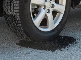 Šaltas asfaltas - akcija