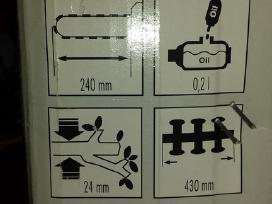 Elektrinis genetuvas ir karpytuvas