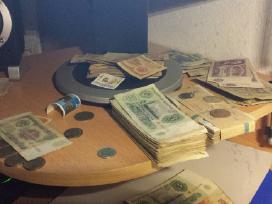 Perku monetas, banknotus, sovietiniai, rubliai