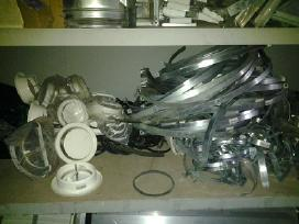 Tenai,koloriferiai,gofros,kondensatoriai,termosat.