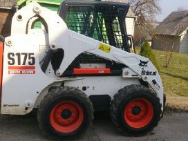 Bobcat, traktorius, sunkvezimis,priekaba-traliukas
