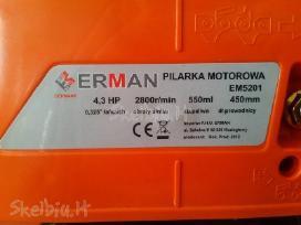 Nauji benzininiai - grandininiai pjuklai 3.3kw