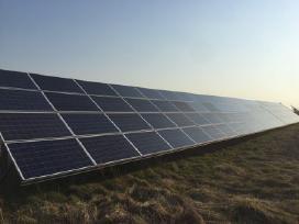 Saulės Elektrinės, Baterijos, Moduliai Kolektoriai
