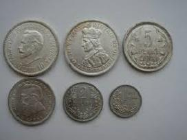 Monetų supirkimas.