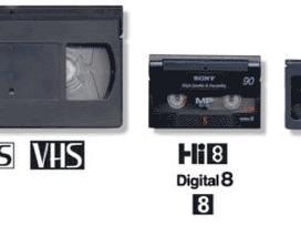 Vhs kasečių perrašymas/запись видео кассет