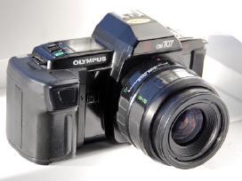 Juostiniai fotoaparatai olympus Om