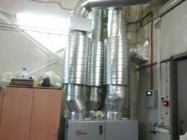 Rekuperacija. Oro vėdinimo sistemų montavimas