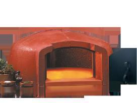 Malkinė picų kepimo krosnis Valoriani Italija