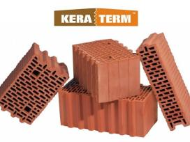 Blokeliai mūro, pamatų, silikato blokai