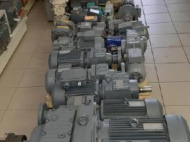 Elektr. varikliai motoreduktoriai dažn. keitikliai