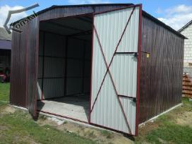 Rudeninė Akcija! Nauji skardiniai garažai - nuotraukos Nr. 5