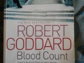 "Knygą ""Blood Count"" Robert Goddard 2011m."