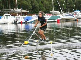 Atrakcija-aquaskipper-vandens sklandytuvas