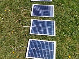 Saulės elektrinė 20w + saulės krovimo valdiklis