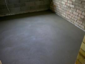 Tinkavimas. Grindų betonavimas.