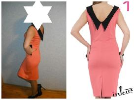 Elegantiska nauja suknele.