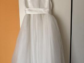 Proginė balta suknelė (10m) ir (12m)