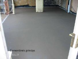 Grindų betonavimas nuo 3,5eur