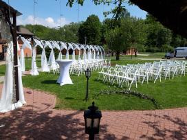 Stalų, kėdžių nuoma. Šventinių paviljonų/palapinių - nuotraukos Nr. 2