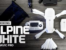 Parduodamas dronas Dji mavic pro alpine white