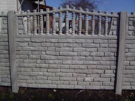 Dekoratyvines sigmentines betono tvoros