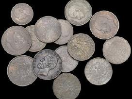 Perku vokiškas sidabrines monetas iki 1972