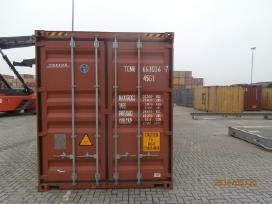 Visu tipu konteineriai.