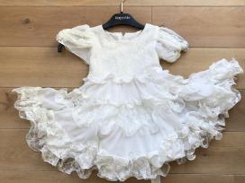 Balta progine suknele