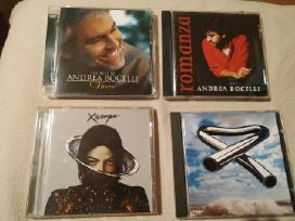 Michael Jackson Andrea Bocelli Mike Oldfield CD