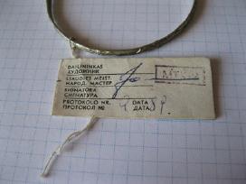 Apyranke.zr. foto.= 15,- .sunkus metalo.