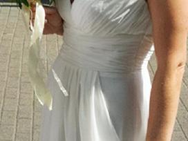 Graikiško stiliaus vestuvinė suknelė