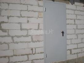 Gaminame metalines duris rūsio sandėliukams - nuotraukos Nr. 5