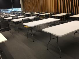 Stalų, suolų, staltiesių, kėdžių nuoma