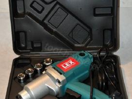 Elektrinis veržliasukis lex 1800w garantija