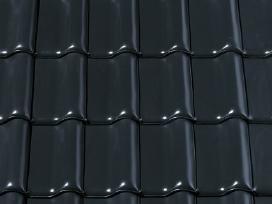 juodos keraminės čerpės - nuotraukos Nr. 8
