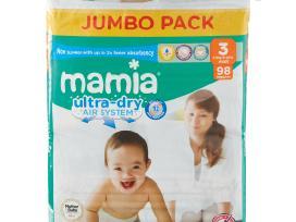 """Naujosios """"Mamia Ultra Dry Air System"""" tik 12 €"""