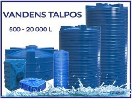 Vandens Talpyklos nuo 500 L iki 20 000 L talpos