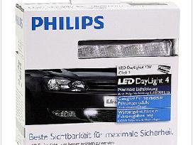 Led dienos žibintai philips, hp, nssc, m-tech drl