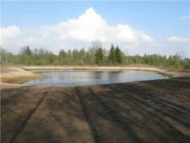 Tvenkinių kasimas, reljefo lyginimas