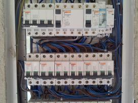 Visi elektros instaliacijos darbai