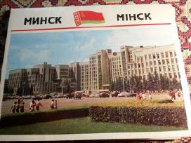 1974m CCCP Minskas komplektas atviruciu 15vnt.