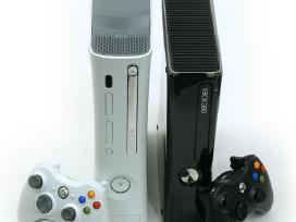Xbox 360 tik 75 Eur + 12 mėn garantija