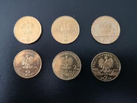2 zlotų monetos