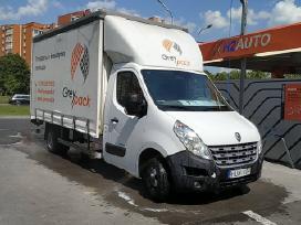 Kraustymo paslaugos, krovinių iki 3 t pervežimas